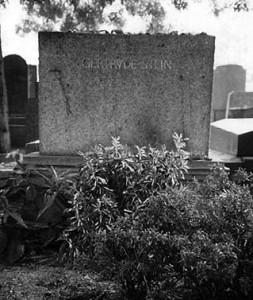 GertrudeandAlice's grave, Père Lachaise Cemetery Paris