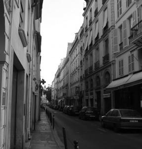 rue de Seine, August 2009