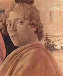 Lorenzo de Medici looking like a saint. Right?!