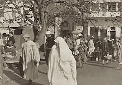 Tangier, 1912. Where's Gertrude?